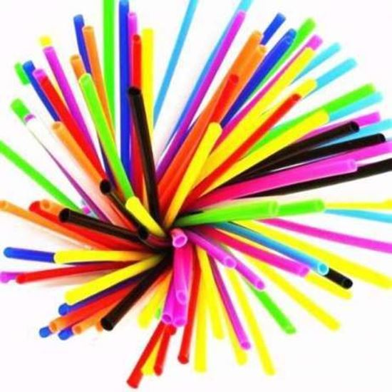 Снимка на Удебелени сламки за спици процепени