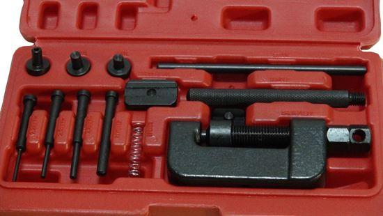 Снимка на Машинка за занитване на вериги на мотор