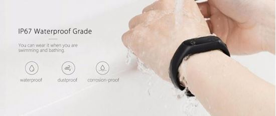 Снимка на Фитнес гривна Xiaomi Mi Band 2 ,Fitness Monitor, HR