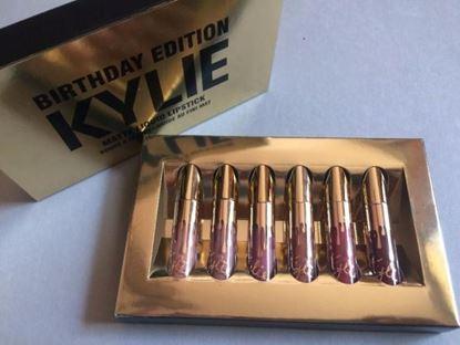 Снимка на Kомплект матови червила Кайли РД - Kylie Lip Kits Birthday Edition