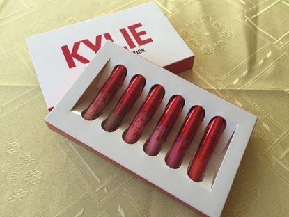 Снимка на Комплект матови червила Кайли - Kylie Cosmetics Valentine Edition Set.