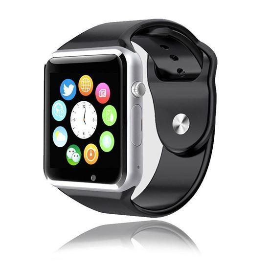 Снимка на A1 Smart watch - Умен часовник с Камера,SIM слот,Памет слот,Bluetooth