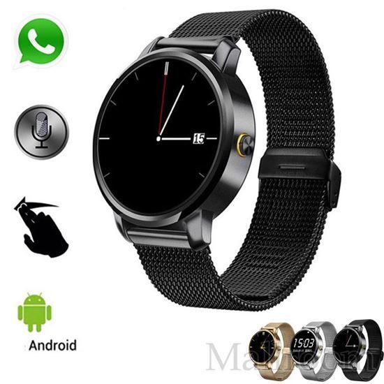Снимка на Унисекс часовник V360 със стоманена лентова каишка