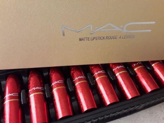 Снимка на Комплект матови червила МАК MAC matte lipstick rouge a levres