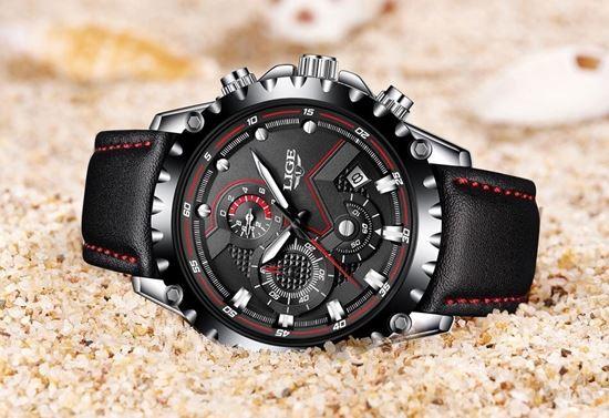 Снимка на Стилен мъжки часовник LIGE Watch
