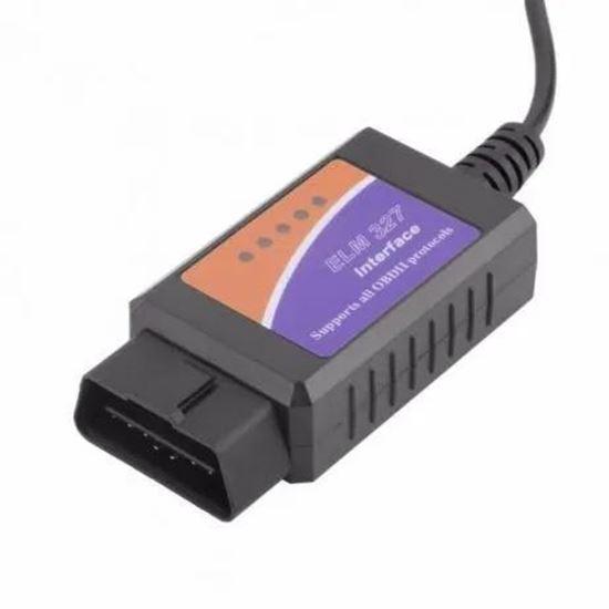 Picture of Диагностика за кола автомобил Elm 327 -OBD 1.5
