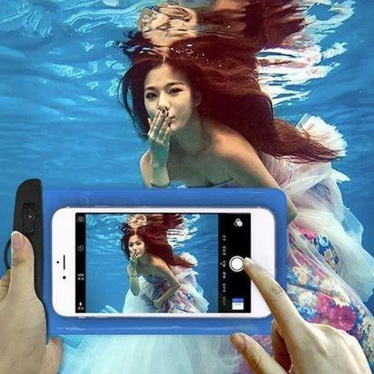 Снимка на Универсален водоустойчив калъф за смартфон за водни снимки