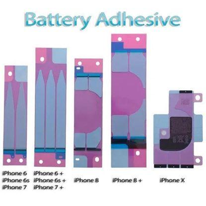 Снимка на Стикер за батерия лепило за iPhone 5 5с 5се 6 6+ 7 7+ 8 8+ x xs xr xs