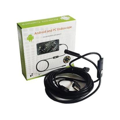 Снимка на Камера ендоскоп подходяща за трудно достъпни места -  канали, тръби, двигатели