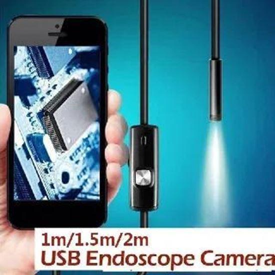 Picture of Камера ендоскоп подходяща за трудно достъпни места -  канали, тръби, двигатели