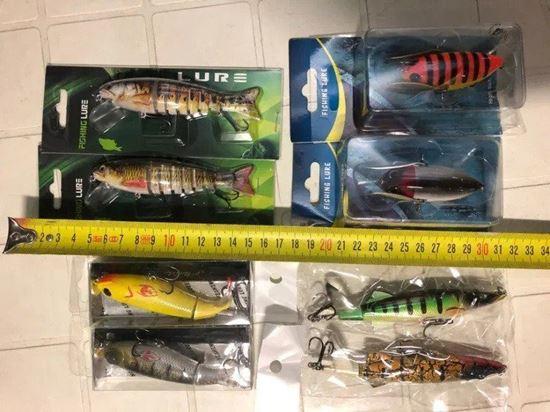 Picture of Изкуствена пластмасов воблер примамка Fishing Lure
