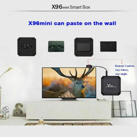 Picture of ТВ Бокс X96 2/16 Android 8.1 Smart TV Box S905W 4K Quad Core H.26