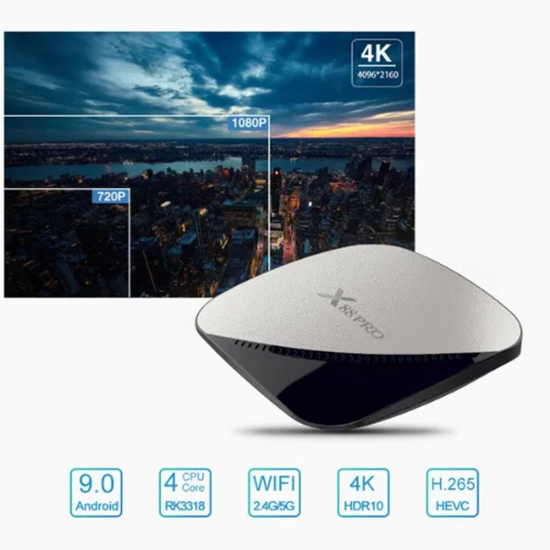 Picture of Тв Бокс X88Pro Android 9.0 TV Box 2GB / 16GB Quad Core 64 Bit 4K