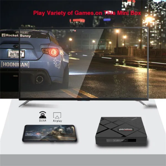 Снимка на Tв Бокс - Pendoo X10 Max Android 9.0 TV Box 4GB / 32GB Quad Core 64 Bi
