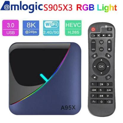 Снимка на Тв Бокс - A95X F3 Android 9.0 TV Box 4GB / 32GB Quad Core 64 Bit 8K СH