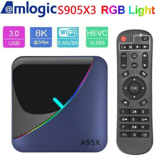 Picture of Тв Бокс - A95X F3 Android 9.0 TV Box 4GB / 32GB Quad Core 64 Bit 8K СH