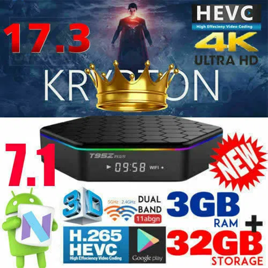 Снимка на Тв Бокс T95Z Plus 3GB 32GB Amlogic S912 Octa Core Android 7.1 OS S