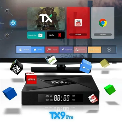 Снимка на TX9 PRO 2GB 16GB тВ Бокс Процесор S912 Octa Core 64Bit Dual WIFI