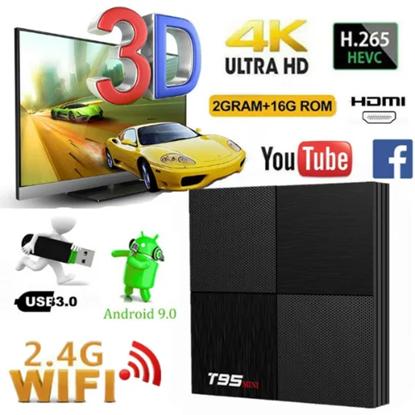 Снимка на Тв Бокс - T95 Mini Android 9.0 TV Box 2GB / 16GB Quad Core 64 Bit 6K С