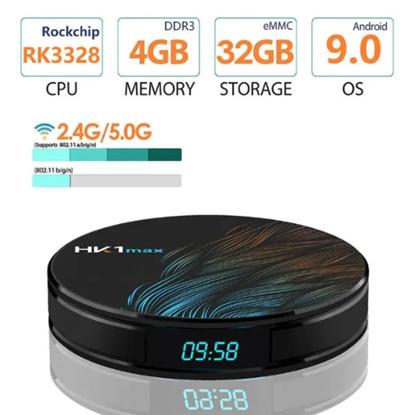 Снимка на HK1 max Android 9.0 TV Box 2GB / 16GB Quad Core 64 Bit 6K СH