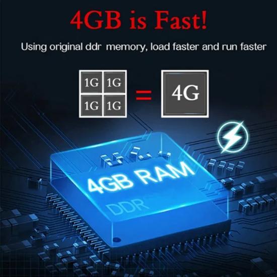 Picture of Q+ Plus Cortex A53 Quadcore 2/16 DDR4 RAM Smart TV Box Android