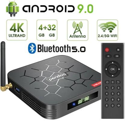 Снимка на Смарт Тв Бокс Pendoo X6 pro Android TV Box 4GB/32GB+ 4K, Android 9.0