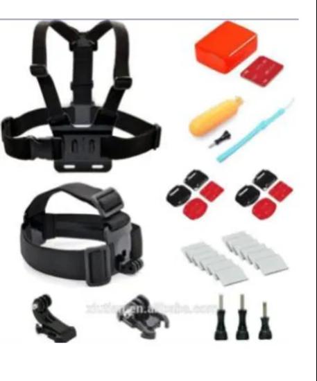 Picture of GK8 нов камплект аксесоари за екшън камери 9 части за сърфисти GO PRO