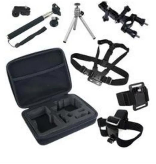 Picture of GK6 нов комплект аксесоари за екшън камери 8 части GO PRO SJCAM,EKEN