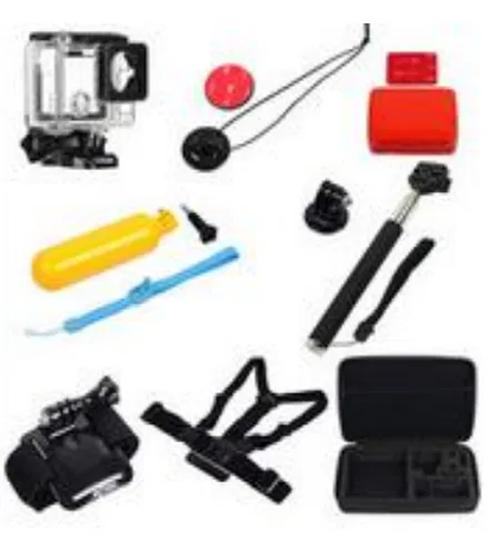 Picture of GK23 нов комплект аксесоари за екшън камери 8 части GO PRO SJCAM,EKEN
