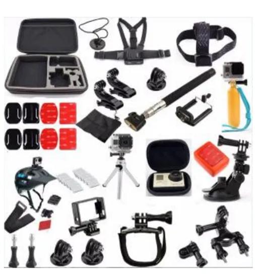 Снимка на GK15 нов комплект аксесоари за екшън камери 23 части GO PRO SJCAM,EKEN