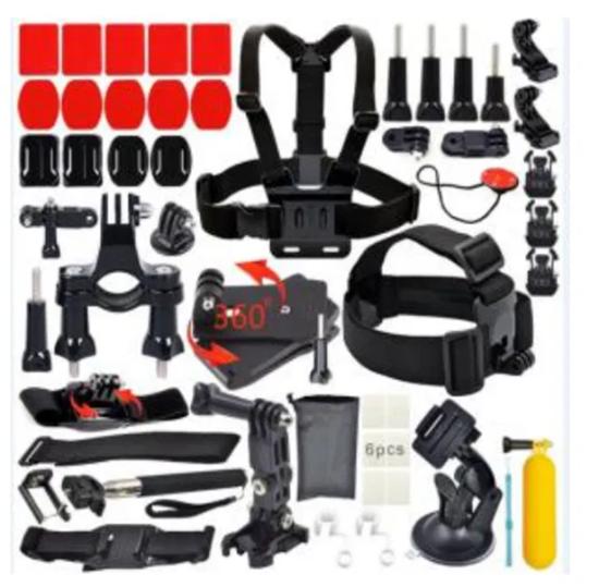 Picture of GK17 нов комплект аксесоарти за екшън камери 20 частиGO-PRO,SJCAM,EKEN