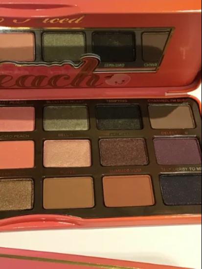 Picture of TOO FACED sweet peach сенки за очи и лице