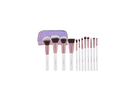 Picture of Комплект четки за грим 14 бр с несесер bh cosmetics brush set 14