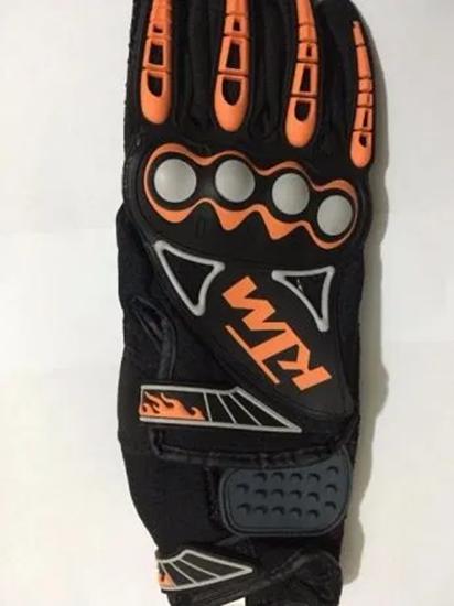 Снимка на КТМ Удобни ръкавици с Гумен протектор срещу всякакви удари, пръчк