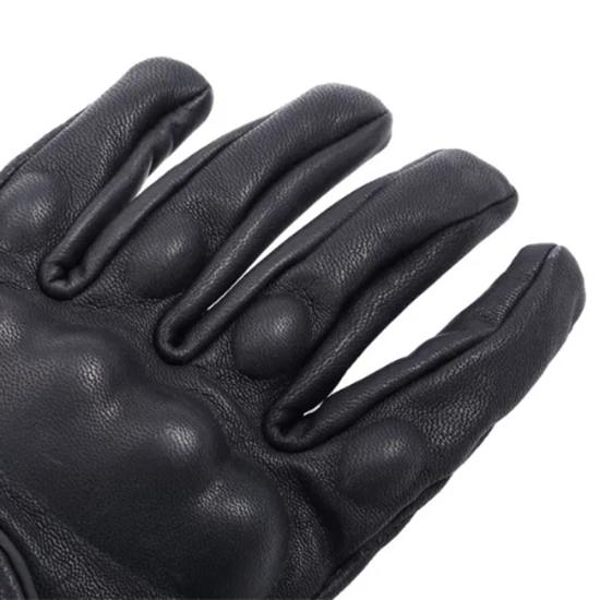 Снимка на Ръкавици от истинска кожа за мотор колело Унисекс