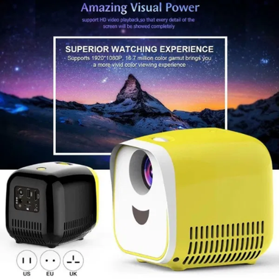 Снимка на L1 Мини Проектор 1080P Full HD LED Movie Projector Домашен театър