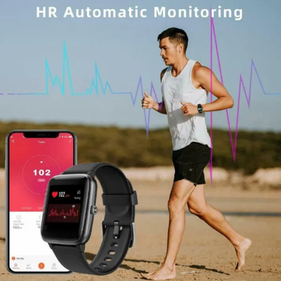 Снимка на Смарт часовник ID205L, фитнес проследяване с монитор за сърдечен ритъм