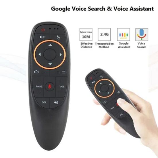 Снимка на G10S 2.4G безжично гласово дистанционно управление Клавиатура Въздушна