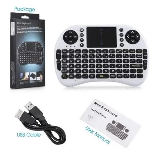 Picture of Мини безжична клавиатура за Android PC или TV Box Mini с подцветка