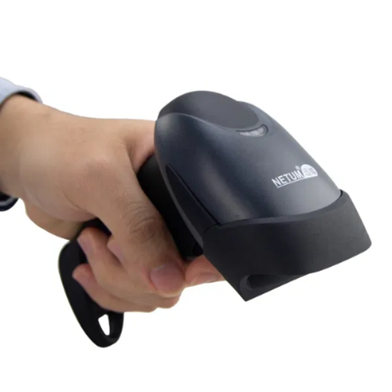 Снимка на Wireless Баркод скенер баркод четец ергономичен NETUM NT-M2