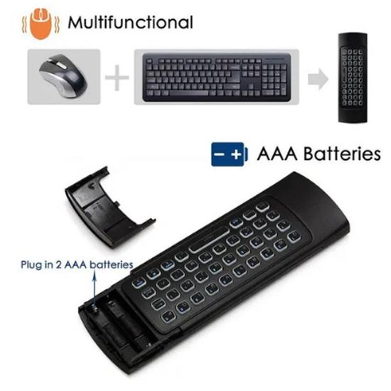 Снимка на Безжична клавиатура MX3 подходяща за всички устройства с USB