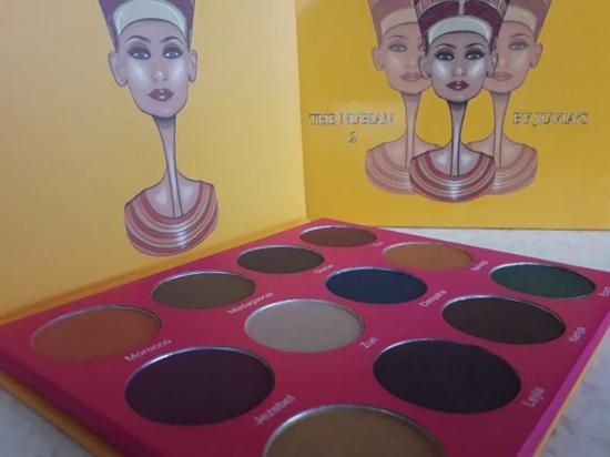 Снимка на Палитра сенки за очи Джувиа Нубиан 2 The Nubian 2 Palette