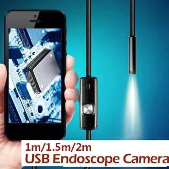 Picture of Камера ендоскоп подходяща за трудно достъпни места канали 2м