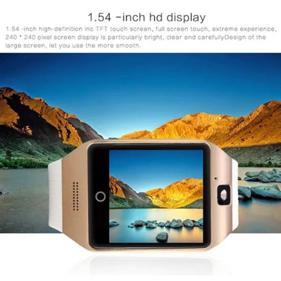 Снимка на Промо Смарт часовник Q18 със сим карта и камера