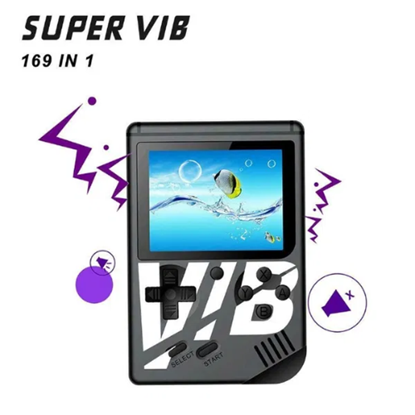 Снимка на SUPER VIB Ръчна игра конзола за двама 169 игри в едно с вибрации