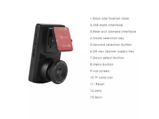 Снимка на V10 мини автомобил DVR камера G-сензор за нощно виждане