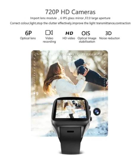 Снимка на Смарт часовник със сим карта 3G gps камера Smart Watch X02с SMW2