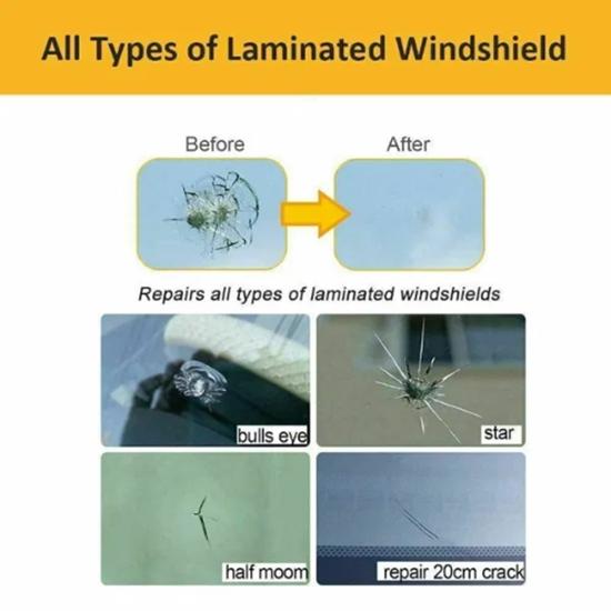 Снимка на Комплект за поправка на автостъкла Windshield-Glass-Repair