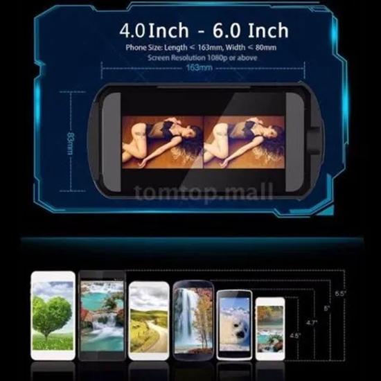 Picture of VR BOX 3d glass/ очила за виртуална реалност 3д очила + дистанцион