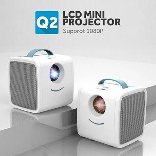 Снимка на Проектор Q2 за домашно кино 1080P HD Развлечение Видео забавление